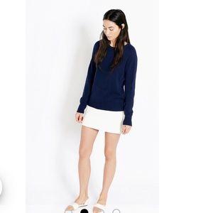 Equipment Femme Sloan Crew Neck Cashmere Sweater L